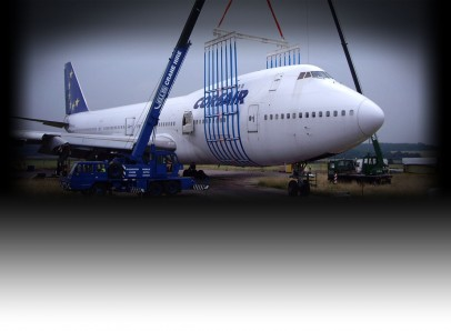 fuselage lifting system