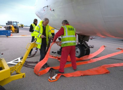Before using an AMS Fuselage Lifting System