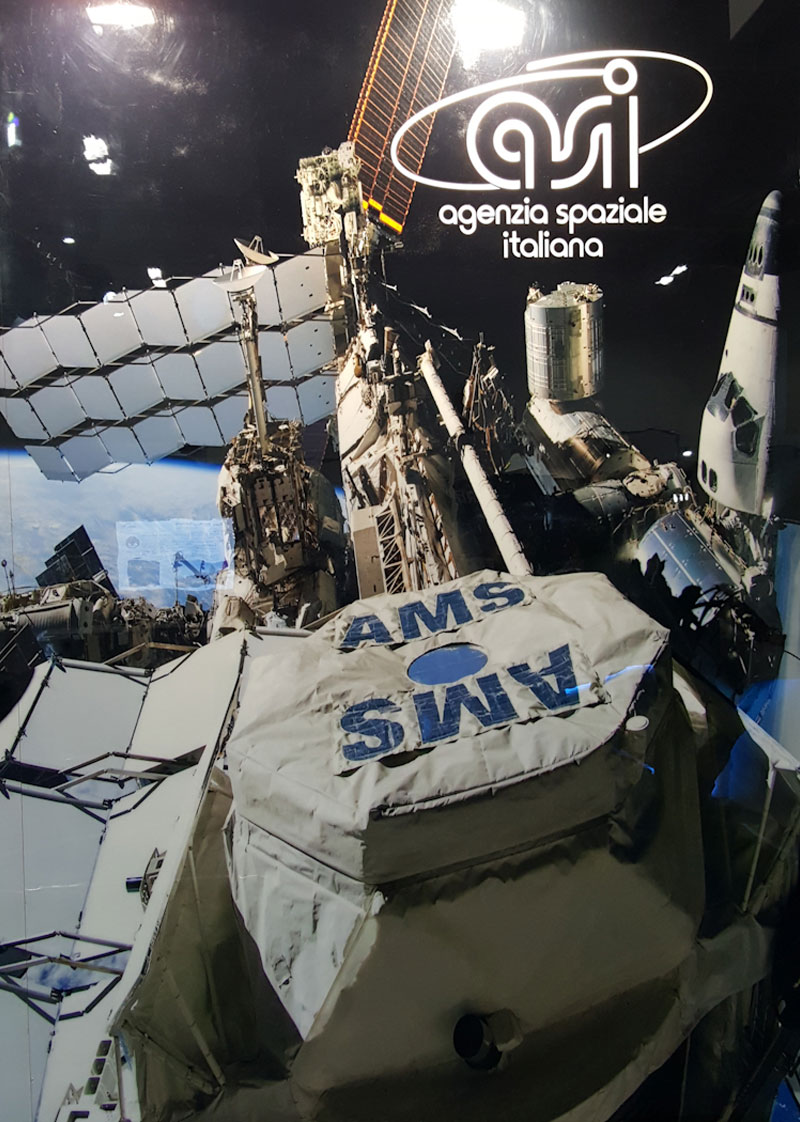 AMS in space